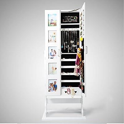 WOLTU Schmuckschrank Standspiegel Wandspiegel Spiegelschrank Schmuckkommode Schmuckkasten 5 Modell zur Auswahl
