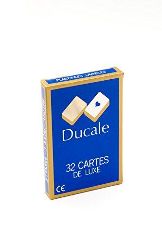 Francia Mapas - 404622 - Juegos de Cartas - Jugar 32 Tarjetas Blister Importado de Francia