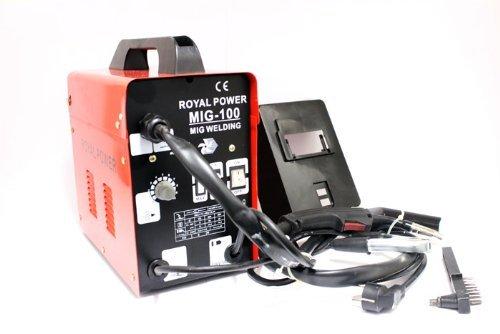 Imoto - Saldatrice a filo continuo, senza gas, ventilata, mig 100
