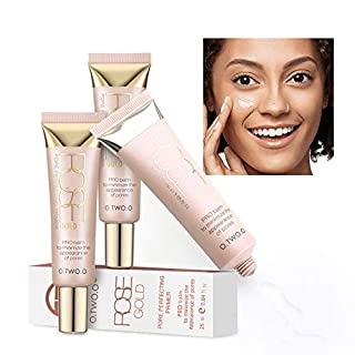 Primer clifcragrocl Makeup Face Foundation Primer Oil-Control Moisturizing Face Smoothing Cosmetic