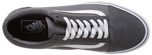 Vans UA Old Skool, Sneakers Basses Homme Gris (Canvas Suede Tornado/true White)