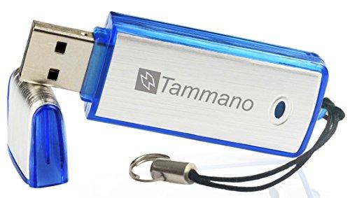 Digitales USB-Aufnahmegerät zum Spionieren von Gesprächen (Spy USB Sound Recorder), mit 8 GB Flash-Drive - Eignet sich am besten für Meetings, Präsentationen, Notizen machen - Mac/Windows - Pro Speicherstick - Kein Blinklicht