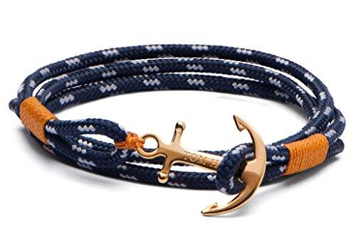 Tom Hope Damen Wickelarmbänder Vergoldet - 24k Large