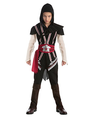 Assassins Creed Ezio Teen Kostüm für Fasching & Halloween (Ezio Kostüm Und Altair)