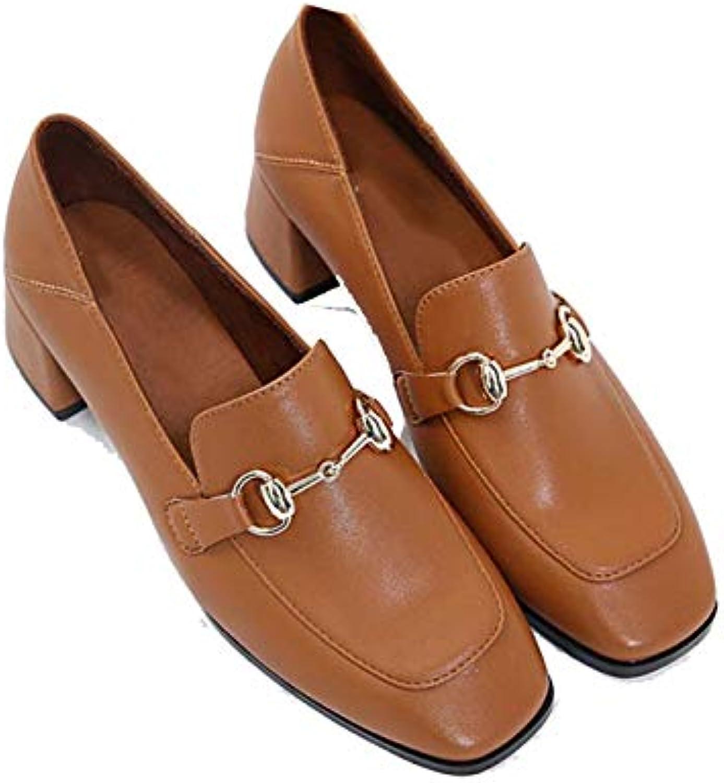 Femmes Retro Mary Jane Smart Chaussures Mid Chaussures Smart à Talons  s Talon Plateforme  s à Talons ChaussuresB07JLTZXDBParent 576441