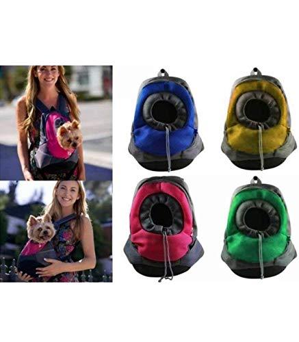 Tradeshoptraesio® - trasportino zaino zainetto spalla cane gatto animali marsupio passeggio borsa