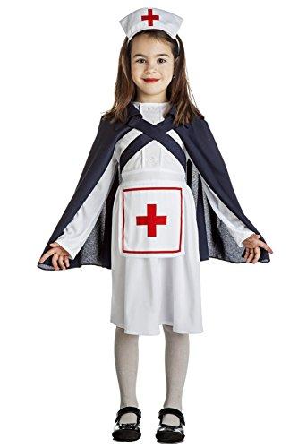 Imagen de disfraz de enfermera ejército iigm para niña