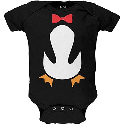 Pinguin Kostüm Baby One Piece - 3-6 (Baby Pinguin Kostüm)