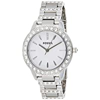 Fossil Jesse Women's Silver Dial Stainless Steel Analog Watch - ES2362