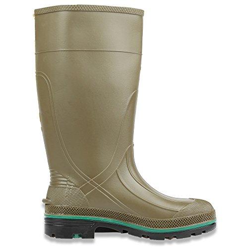 Servus Max 38,1cm PVC chemikalienresistent weichem Fuß Herren Arbeits-Stiefel, olive, grün & braun (75120), 75122-GYM-030 Olive, Green & Brown