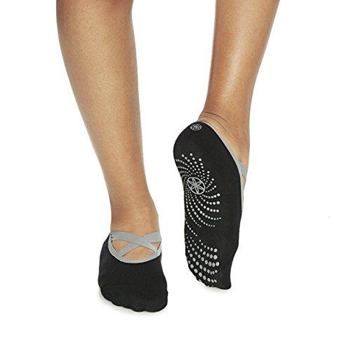 gaiam-grippy-barre-socks-black-grey