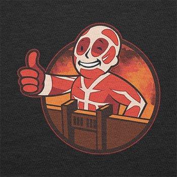 TEXLAB - Titan Boy - Herren Langarm T-Shirt Schwarz