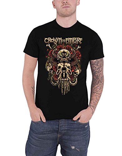 Crown The Empire T Shirt Sacrifice Band Logo Nue offiziell Herren (The Empire-band Crown)