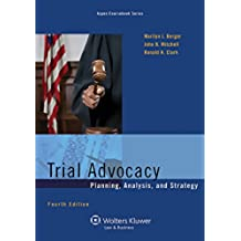 Trial Advocacy: Planning, Analysis, and Strategy (Aspen Coursebook Series) (English Edition)