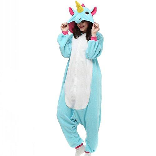 Unicorn-Kigurumi-Pijamas-JLTPH-Unicornio-Unisex-Onesie-Unisexo-Adulto-Traje-Disfraz-Animal-Adulto-Animal-Pyjamas-Traje-Disfraz-de-Halloween-Christmas