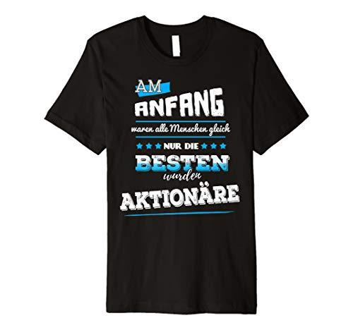 Gebraucht, Aktionär T-Shirt Lustiger Spruch gebraucht kaufen  Wird an jeden Ort in Deutschland