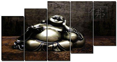 DekoArte – Cuadro moderno en lienzo Buda zen 150x80cm