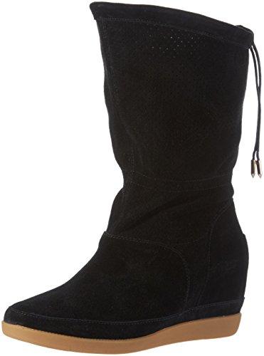 Shoe The Bear Damen Emmy Iii Kurzschaft Stiefel Schwarz (Black)