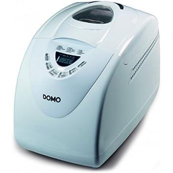 Domo Do-B3970Domo Machine à Pain 750-1000Gr Blanche 12 Programmes