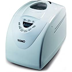 Domo Do-B3970Domo Machine à Pain 750-1000Gr Blanche 12 Programmes