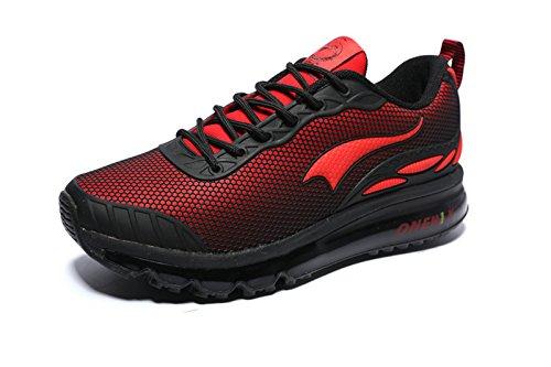 onemix  Onemix1120, Chaussures de course pour homme rouge/noir