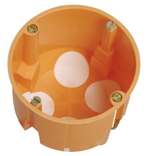 Kopp 348601509 - Scatola interruttori per parete in cartongesso con membrana protettiva isolante, ø 68 mm, profondità 61 mm, confezione professionale da 15 pezzi