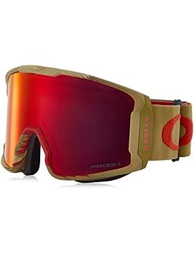 Oakley–Gafas de nieve Line Minero Sammy Carlson Signature Razor Camo red Goggle