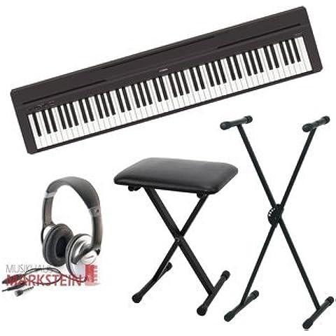 Yamaha di P 45II Stage Piano con treppiede, Panca, Set Cuffia - P. Piano