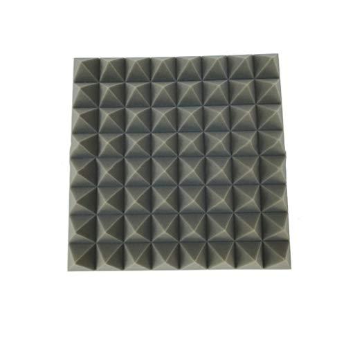 XIYin-Sound XZGang Triangle Acoustic Panels, graues Multifunktionsschlafzimmer-Haushaltsstab-KTV-Trommel-Raum-Klavier-Raum schalldämpfende Baumwolle Gesangsraum (Size : 50 * 50 * 8cm) (Baumwoll-sound-panels)