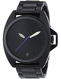 Nixon Supreme - Reloj de cuarzo , correa de acero inoxidable color negro