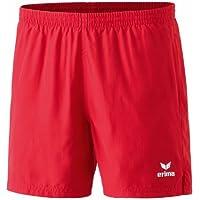 erima Shorts Tischtennis Freizeit - Pantalones de fitness para hombre, color rojo, talla DE: 164