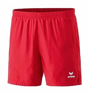 erima Herren Shorts Tischtennis Freizeit, rot, S/M, 209007