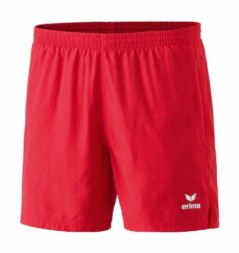 erima Kinder Shorts Tischtennis Freizeit rot