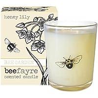 Beefayre Miele Lily profumata candela in vetro (Miele Candela Profumata)