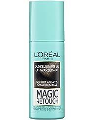 L'Oréal Paris Magic Retouch Ansatz-Kaschierspray, Dunkelbraun bis Schwarzbraun, 1er Pack (1 x 75 ml)