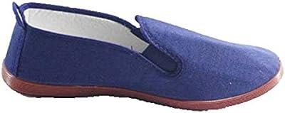 Zapatillas para taichi kunfú y yoga Irabia en azul marino