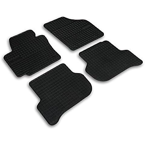 Premium ALFOMBRAS ALFOMBRILLAS DE GOMA apto para el SEAT ALTEA XL [2006-2014]