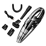 Womdee Rechargeable Handheld Car Cordless Vacuum, Car Interior Vacuum Cleaner, Wet/Dry Hoover, Power