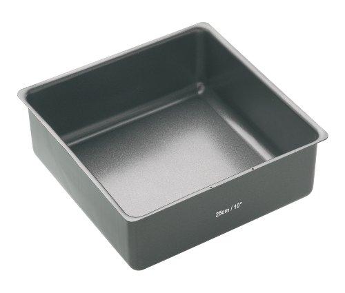 Kitchen Craft Master Class Cake Pan/Square Pan, Non-Stick 25cm (10\\
