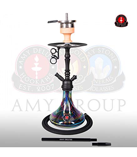AMY Shisha 056 Middle Globe - black - RS black powder