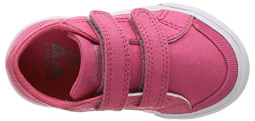 Le Coq Sportif - Saint Gaetan Inf, Scarpe da Ginnastica Basse Unisex – Bambini Rosa (Honeysuckle)