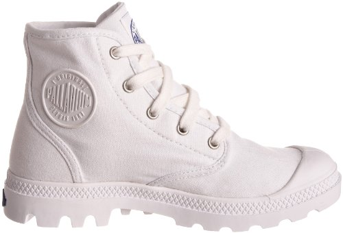 Palladium PAMPA HI Canvas, Basket mode femme Blanc (White/Surf 101)