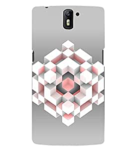 PRINTSWAG CUBE Designer Back Cover Case for ONE PLUS ONE