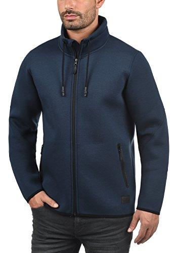 BLEND Wooby Herren Übergangsjacke Sweatjacke mit Stehkragen aus einer hochwertigen Baumwollmischung Navy (70230)