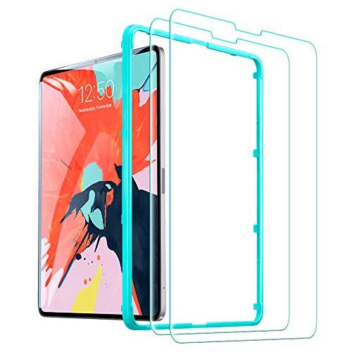 ESR 2 X für Panzerglasfolie Schutzfolie iPad 11 2018, 0.3mm Tempered Glas Displayschutz Folie iPad Pro 11 2018, 2 Stück -
