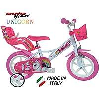 Cicli Puzone Bici 12 Unicorn Dino Bikes Art. 124 RL-Un