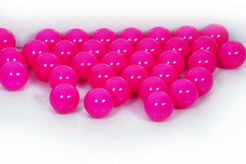Koenig-tom, palline per piscina, 15colori, testate a novembre 2012, pink