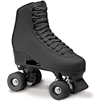 Roces RC1, pattini a rotelle classici, per Pattinaggio Artistico, Unisex, RC1 Classicroller, nero, 41