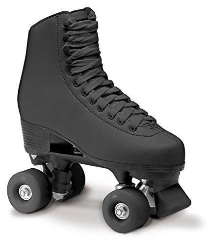 Roces Erwachsene RC1 Classicroller Rollerskates Rollschuhe Artistic, schwarz, 36
