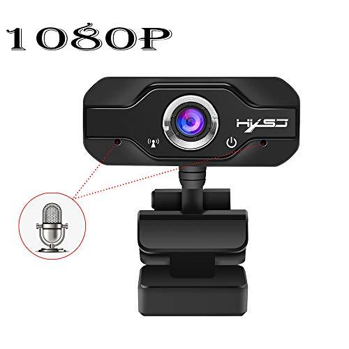 JIANG HD-Autofokus-Kamera mit 5-Megapixel-Unterstützung für 720P 1080-Videoanrufe, integriertem Noise Cancelling-Mikrofon und automatischem Schnellfokus,S70 -
